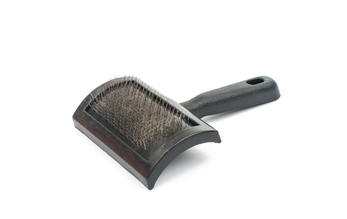 how to clean a cat hair brush