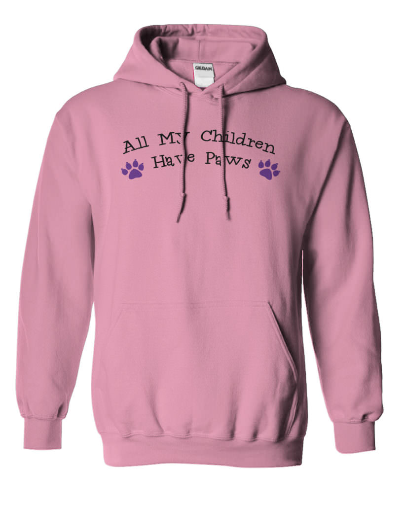 All My Children Have Paws Hoodie