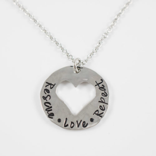 Rescue Love Repeat Necklace