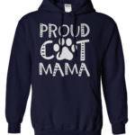 Proud Cat Mama Hoodie