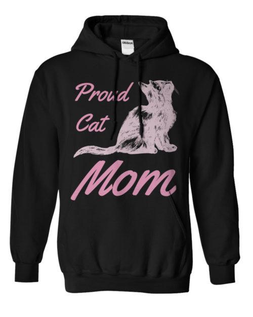 Proud Cat Mom Hoodie