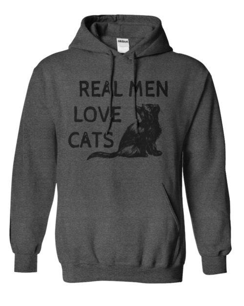 Real Men Love Cats Hoodie 1