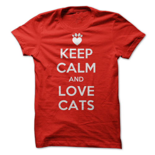 Keep Calm and Love Cats 1