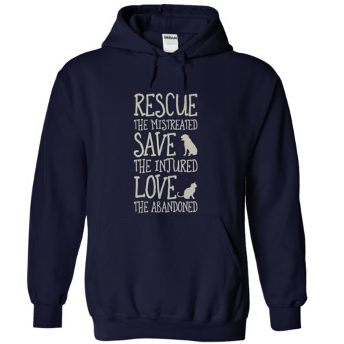 HOODIES-Rescue-Navy-Blue