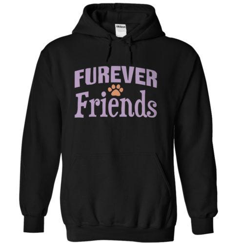Furever Friends – Dark Version Hoodie