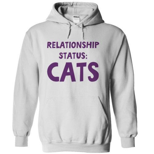 Relationship Status – Light Version Hoodie