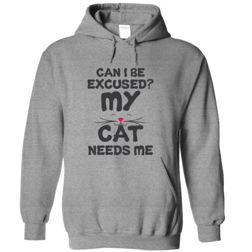Can I Be Excused Hoodie – Light Version