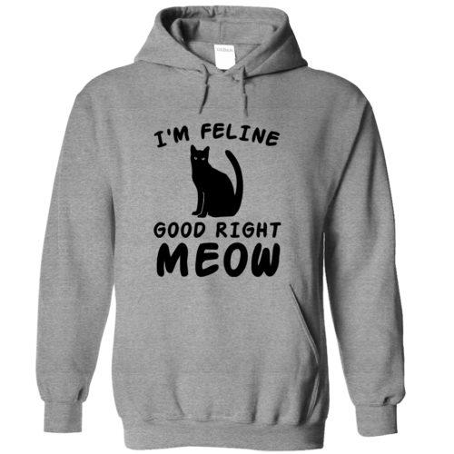 I'm Feline Good Hoodie – Light Version