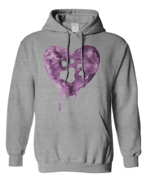 Watercolor Heart Hoodie