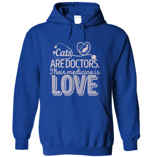 Cats Are Doctors Hoodie
