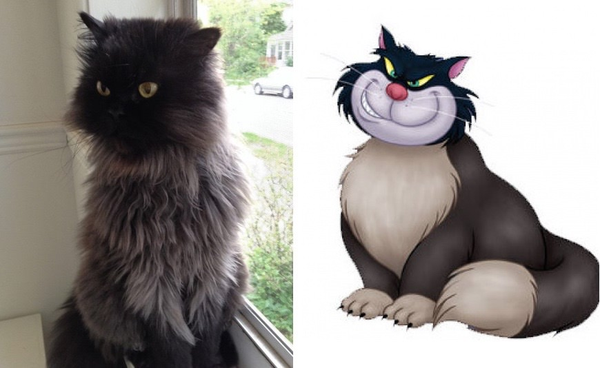 What cartoon characters would look like in real life