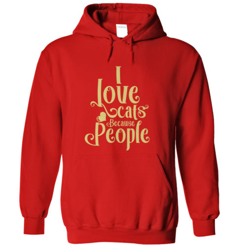 Because People Hoodie – Yellow