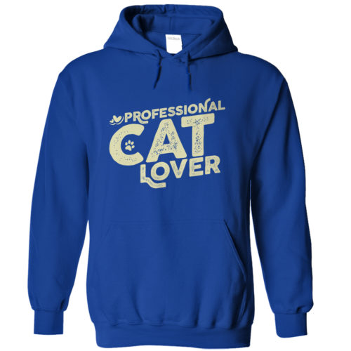 Professional Cat Lover Hoodie