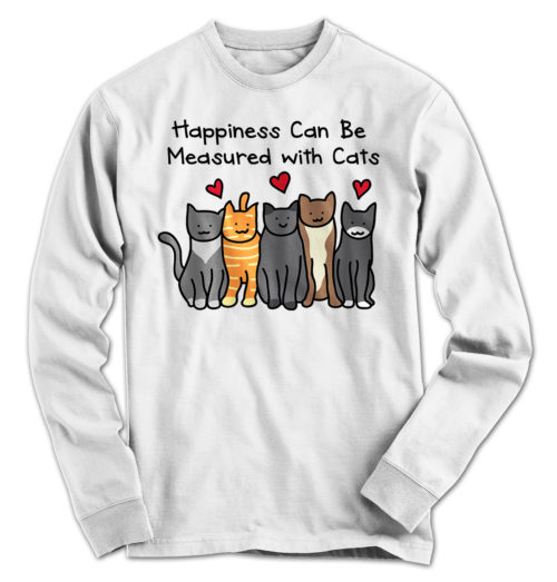 Happiness Cat Long Sleeve