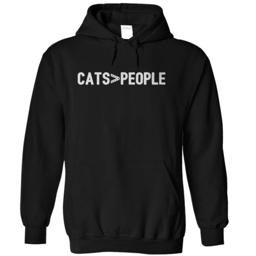 Greater Than Cats Hoodie