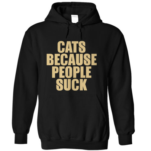 Cats Over People Hoodie