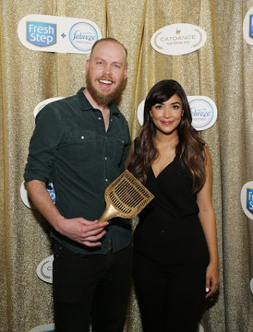 Hannah Simone and Catdance Winner