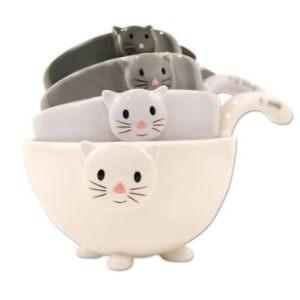cat mixing bowls
