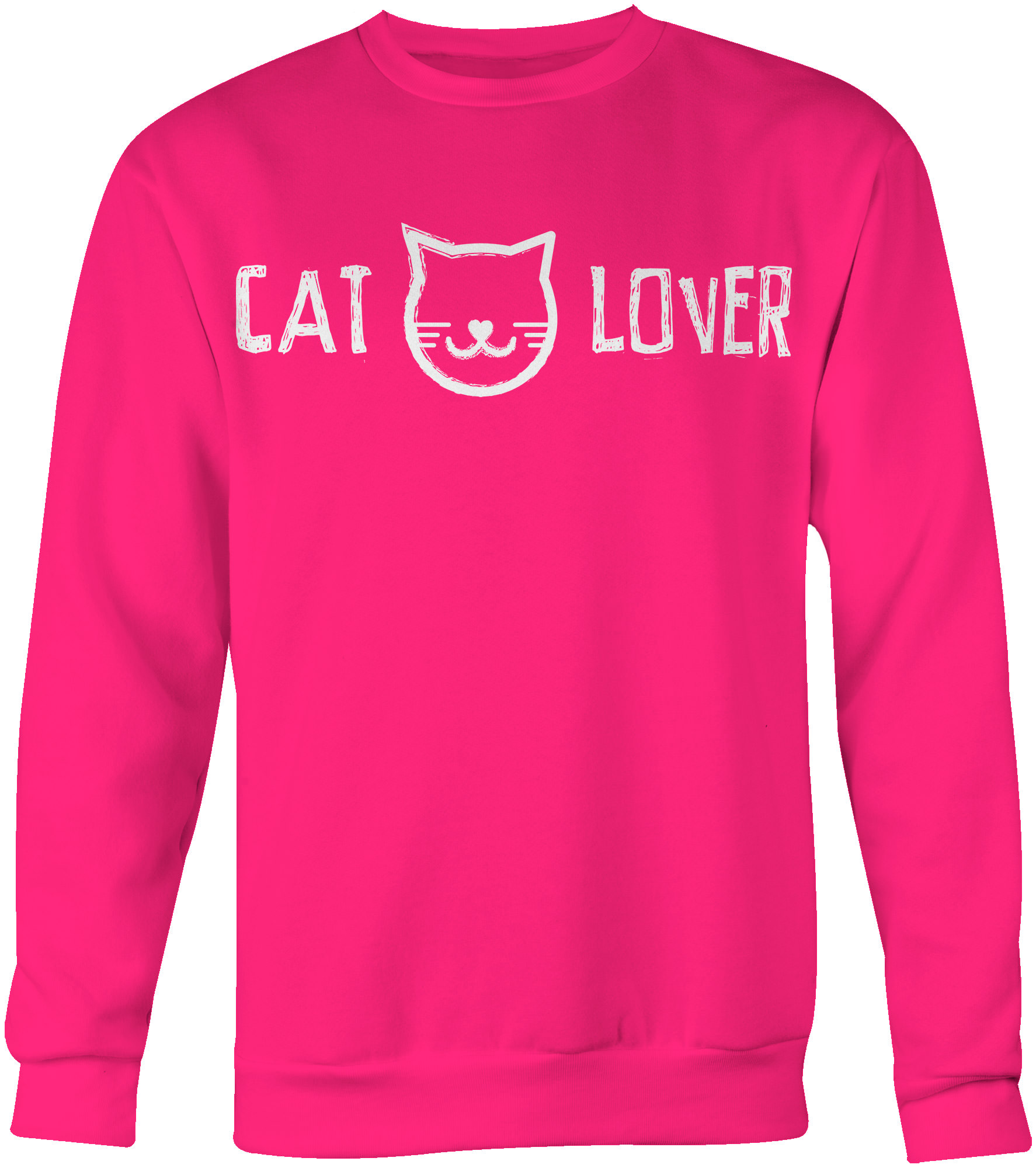 Cat Lover Crew Neck Sweatshirt - iHeartCats.com
