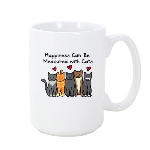 Happiness Cat Mug
