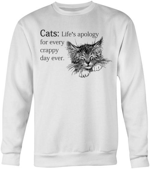 Every Crappy Day Crew Neck Sweatshirt