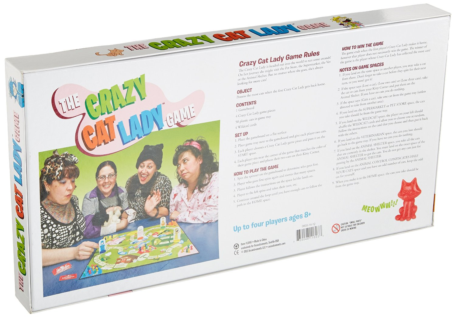 IT'S HERE! The Crazy Cat Lady Board Game