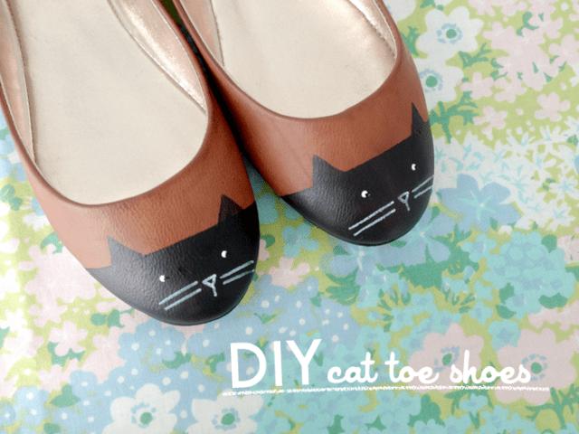 Cat Toe Shoes