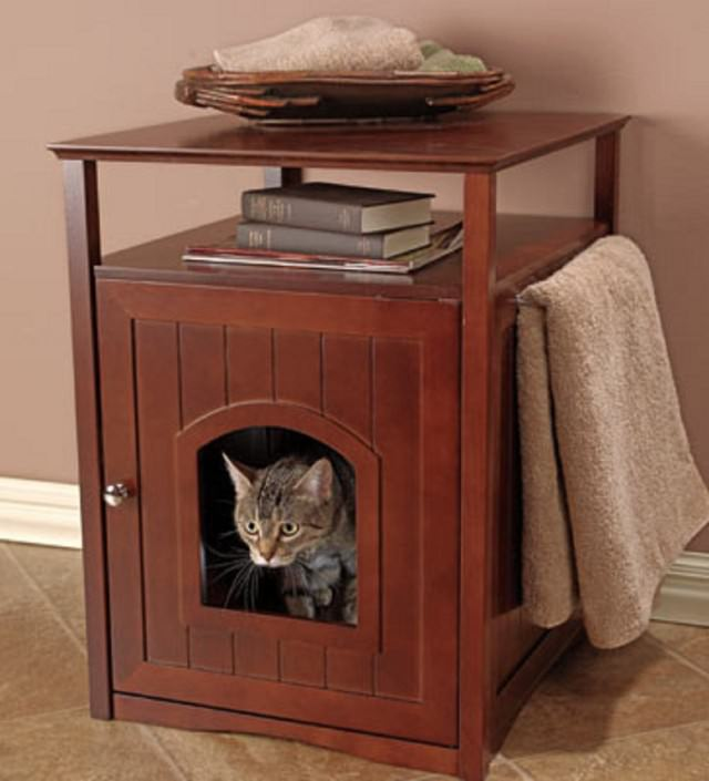 cat nightstand