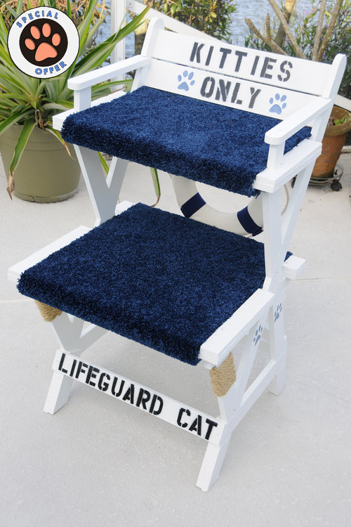 kitty lifeguard chair