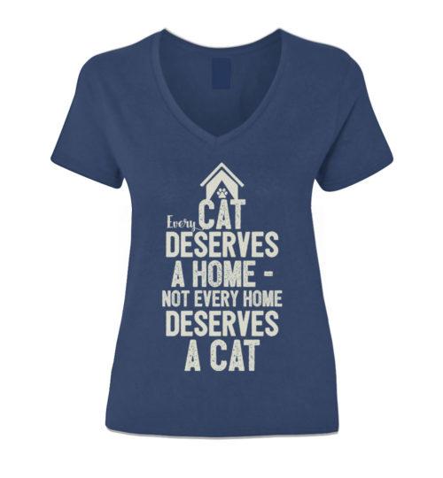 Every Cat Deserves V-Neck
