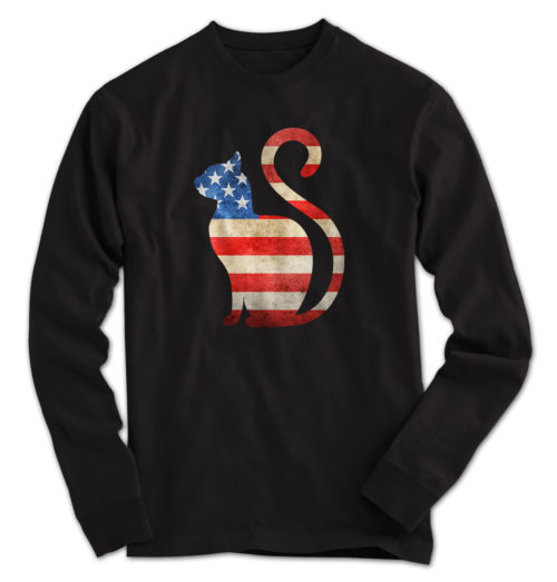 Cat USA Long Sleeve