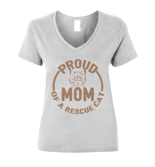 Proud Mom V-Neck