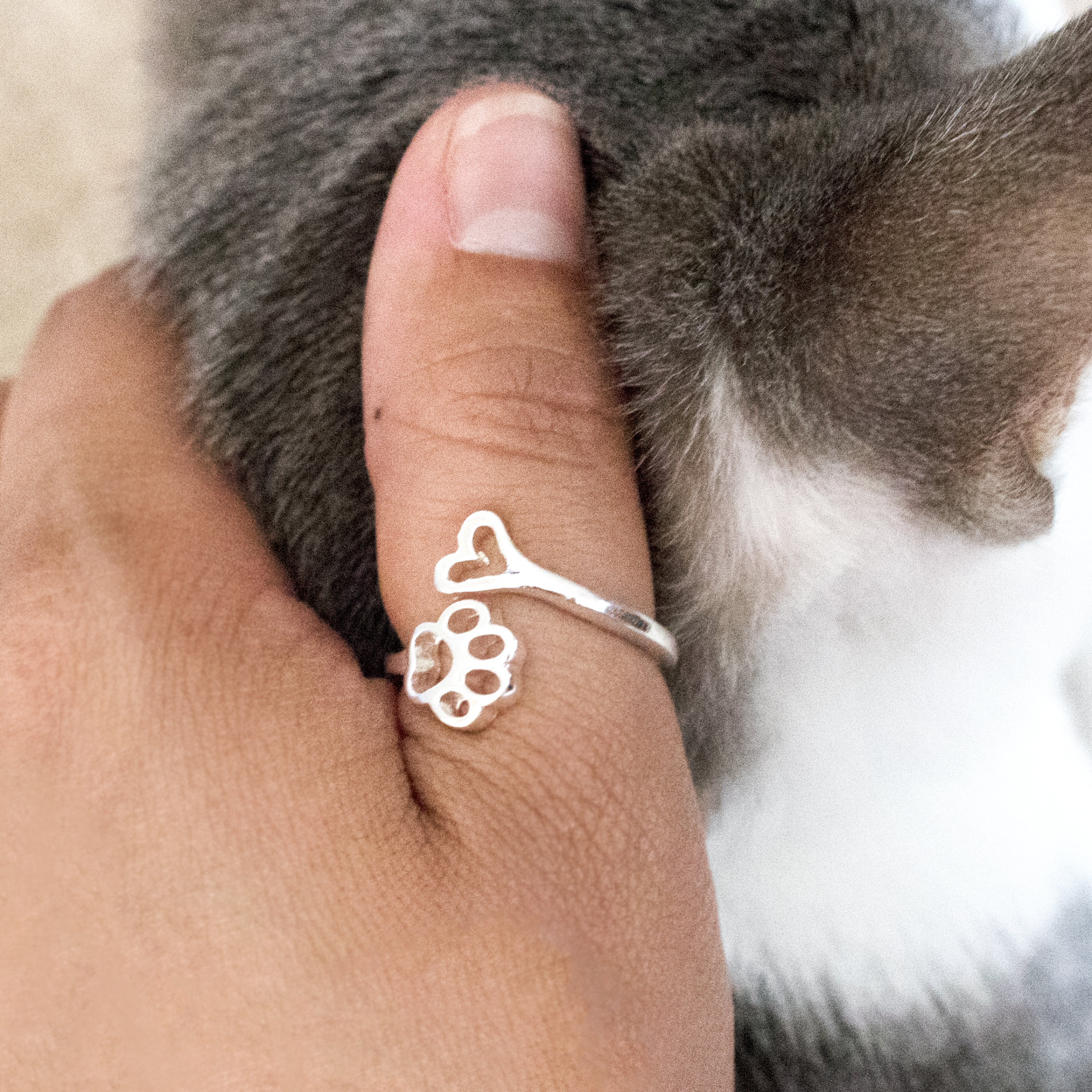 aed43a424baf7 Always By My Heart Adjustable Ring