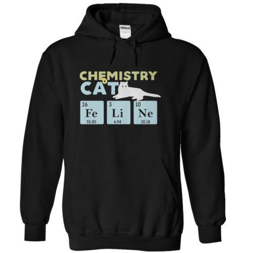 Chemistry Cat Hoodie
