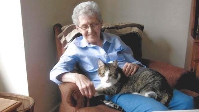 Grandma & Cat