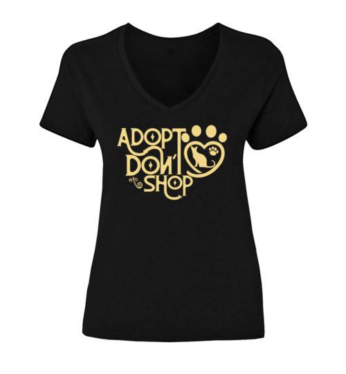 Adopt Don't Shop V-Neck