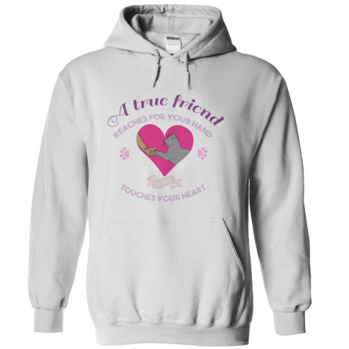 hoodie-a-true-friend-cat-shirt-white