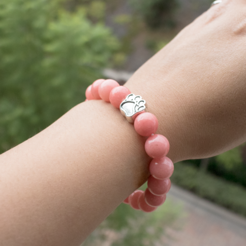 """Paws And A Cause"" Bracelet: Each Purchase Helps Provide Mammograms"