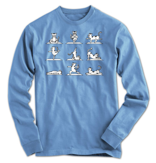 Cat Yoga Long Sleeve