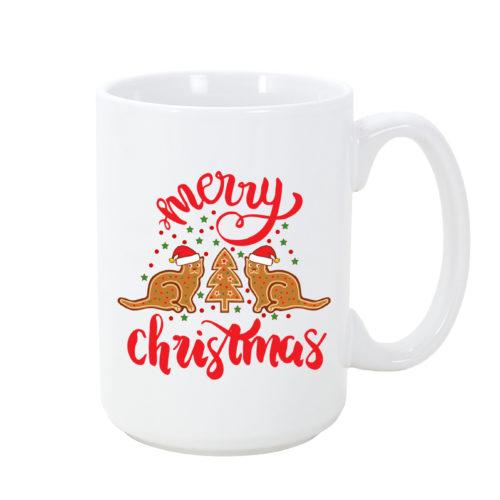 Gingerbread Cat Mug