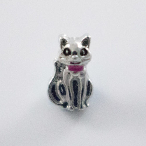 Cat Figurine Add-On Charm for Locket
