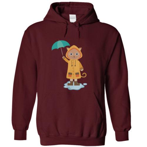 Rainy Kitten Hoodie