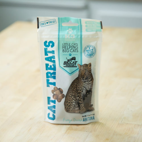 Single Ingredient Grain & Gluten Free Freeze Dried Ahi Tuna Cat Treats (1.1 oz)