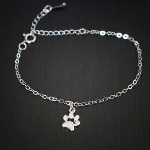 Petite Paw Charm Bracelet
