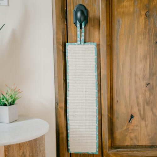 Project Play™ Floral Teal Cat Scratcher