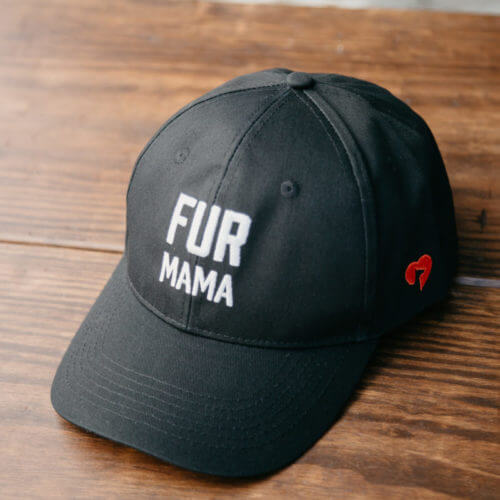 Fur Mama Embroidered Canvas Hat
