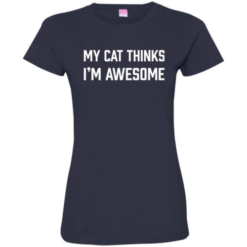 I'm Awesome Fitted Tee