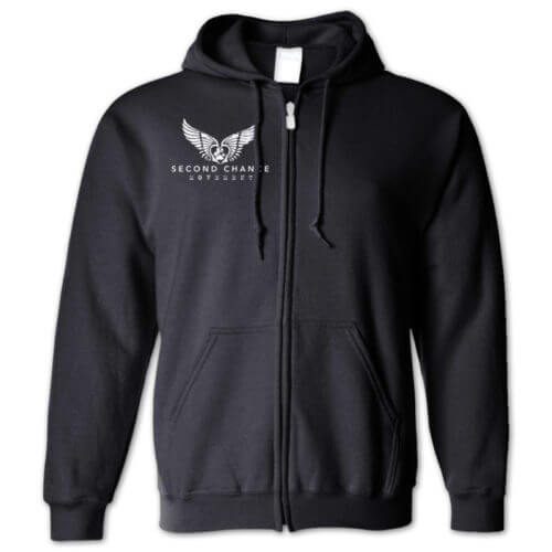 Second Chance Movement Zip Hoodie
