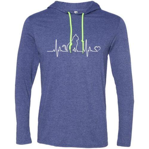 Cat Heartbeat T-Shirt Hoodie