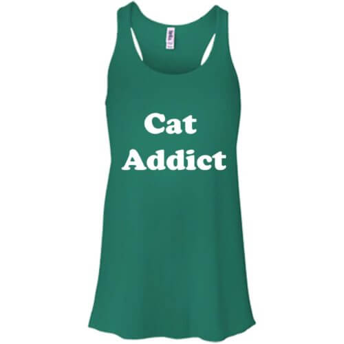 Cat Addict Flowy Tank